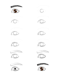 How to draw an eye. Guide.