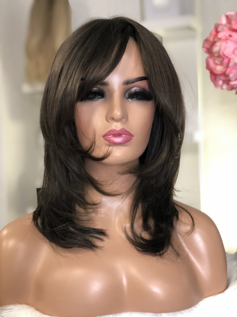 Ardita - illusion Full cap / 14 inch / 180 % Volume / Small / european Hair