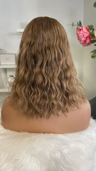 Anais - Glueless Full cap / 14 inch / 130 % Volume  / russian Hair