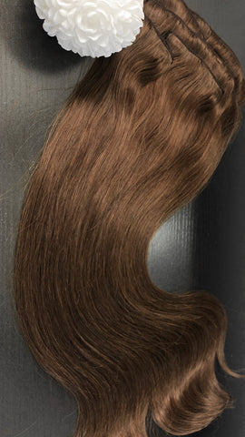 Marbella - Clip-in / european hair / 22 inch / 150 gram