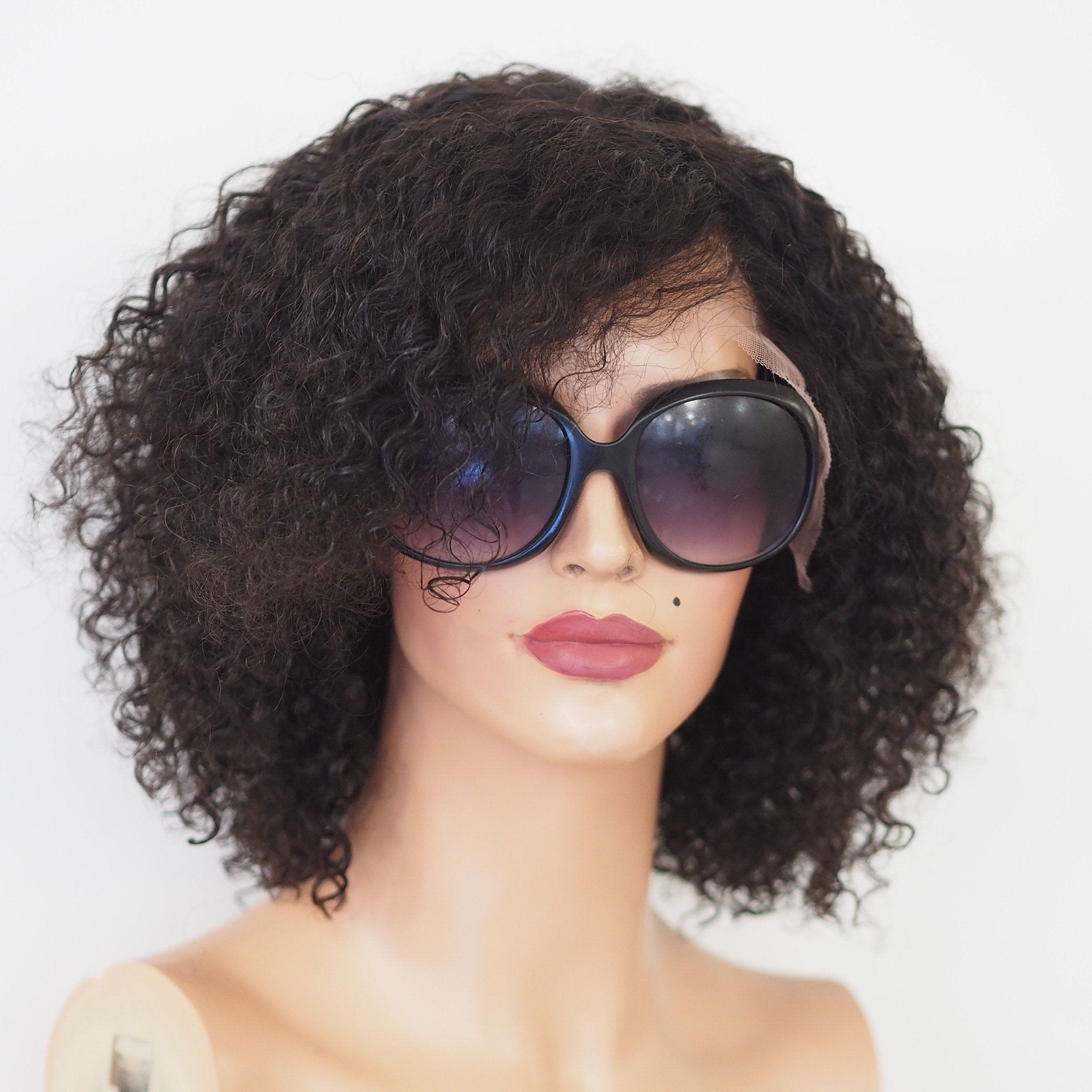 Nina - Front lace / 12 inch / 130 % Volume / Medium / Brazil Hair
