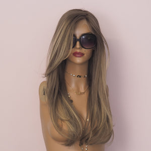 Kate - Full lace silk base / 22 inch / 180 % Volume / Small / Virgin Hair