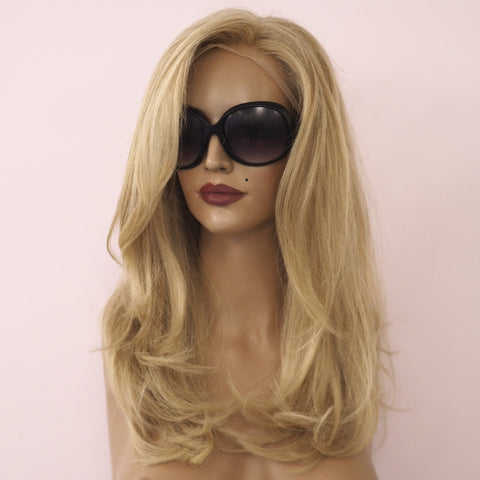 Alexy hair Full lace  front lace blonde California  Brown medical wigs perruque cheveux naturel medicale cancer genève suisse