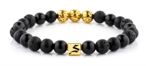Premium Minimal Gold Black Mixed