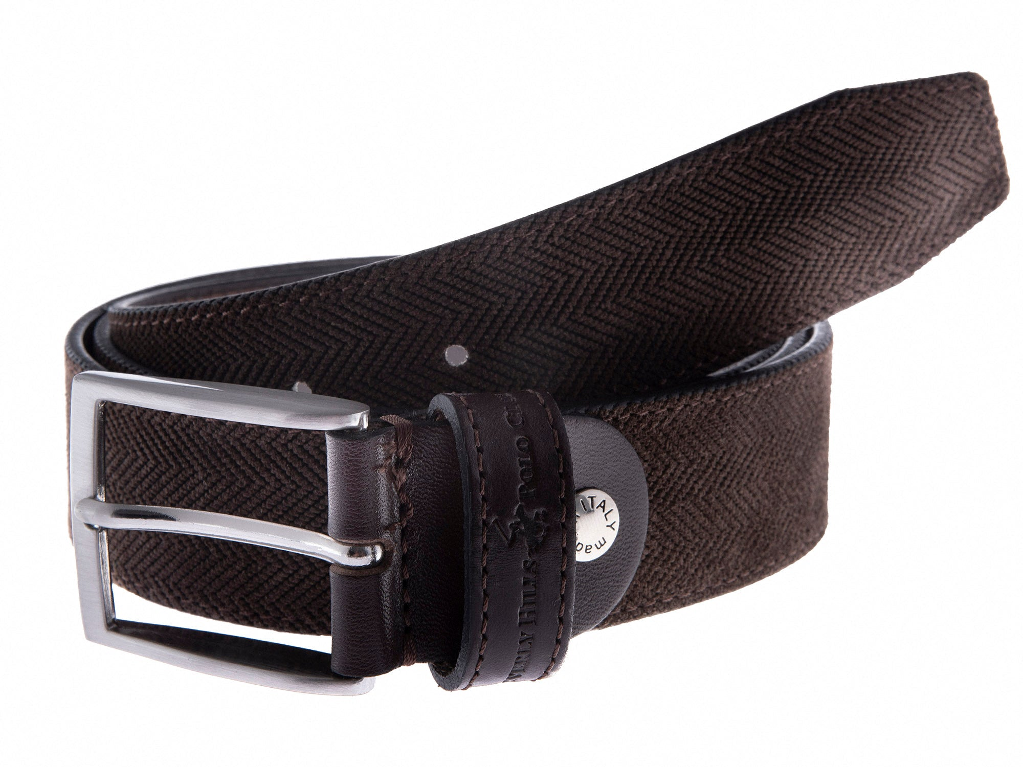 California Men's Leather Belt