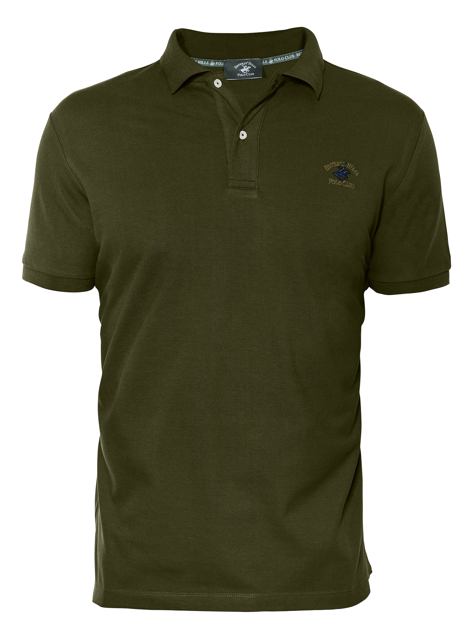 LUXURY PIQUÉ REGULAR FIT HUNTER GREEN POLO