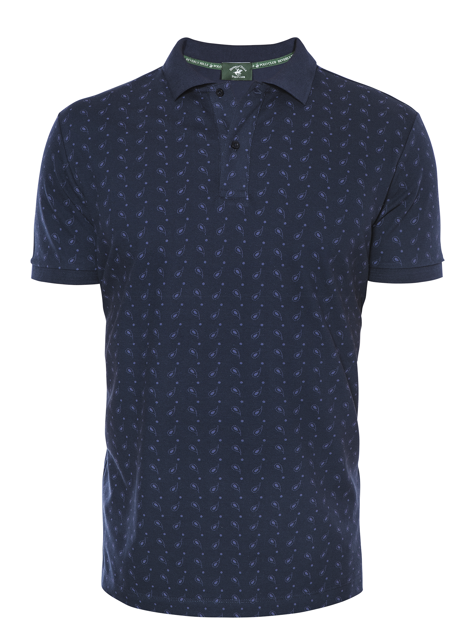 PREMIUM NAVY FASHION REGULAR FIT PIQUÉ
