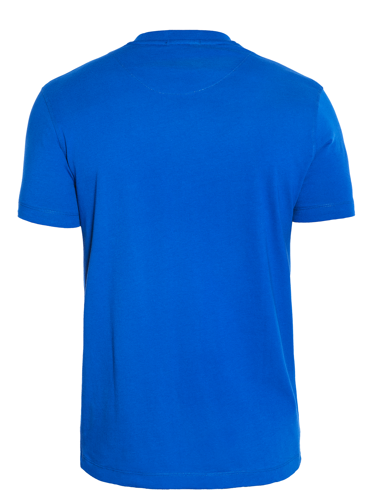 SOFT HAND-FEEL ROYAL BLUE T-SHIRT
