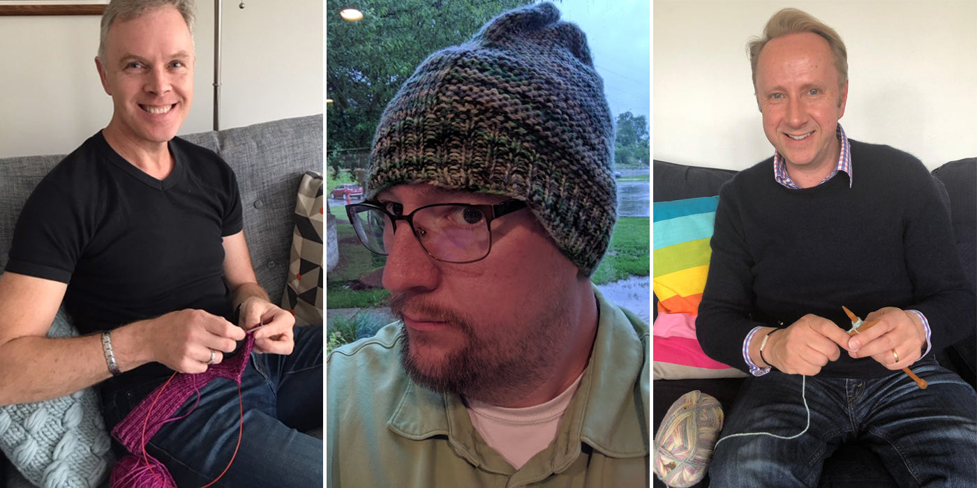 Let's celebrate - crafting from a male perspective #menwhoknit #menwhocrochet