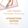 CHRISTMAS DELIVERY | Last order dates