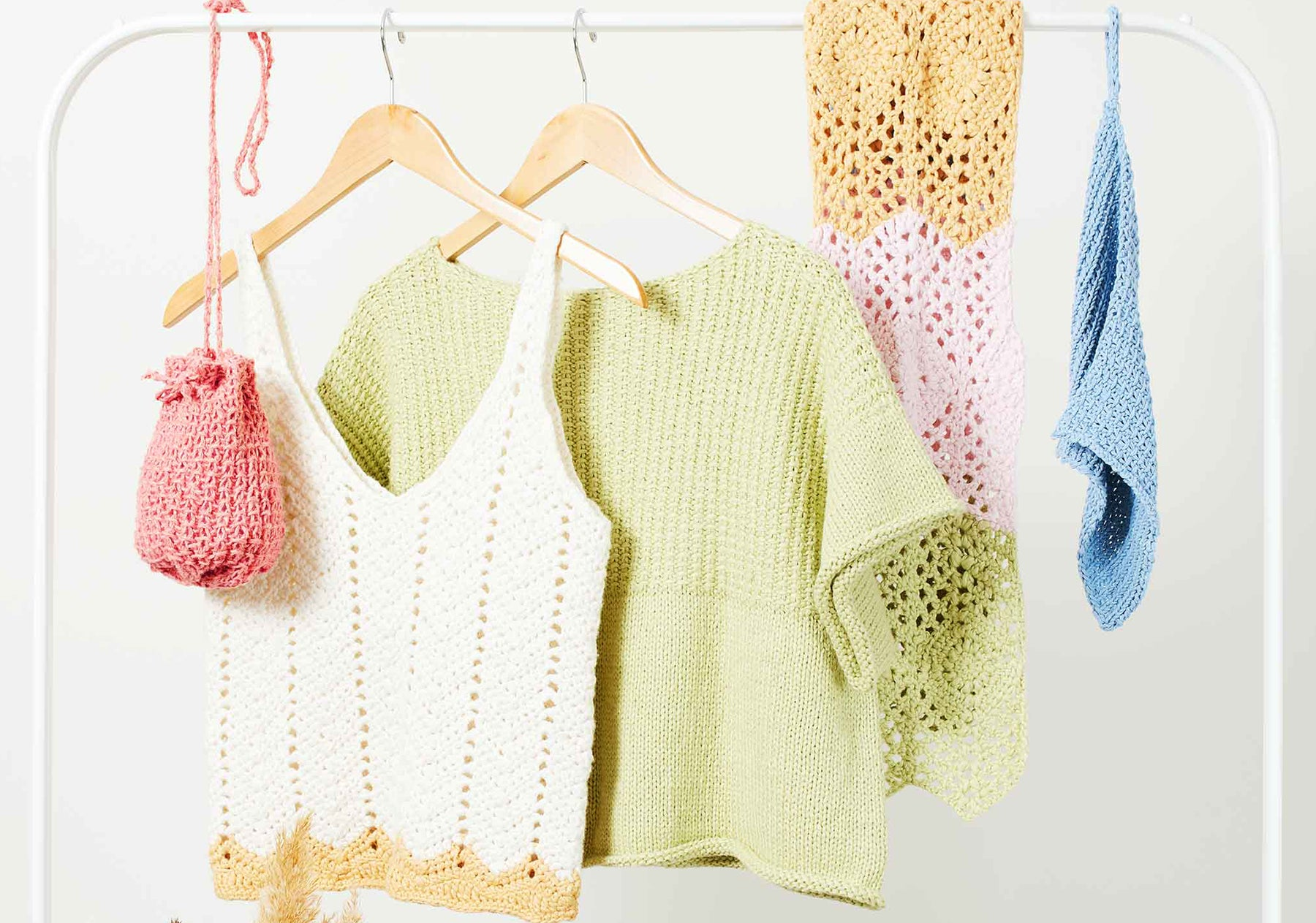 10 knitting and crochet patterns for summer