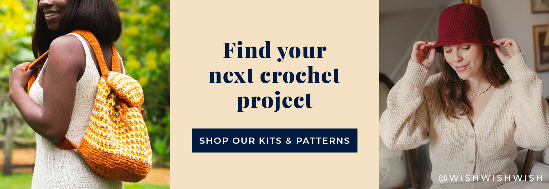 Shop all-in-one crochet kits at Stitch & Story