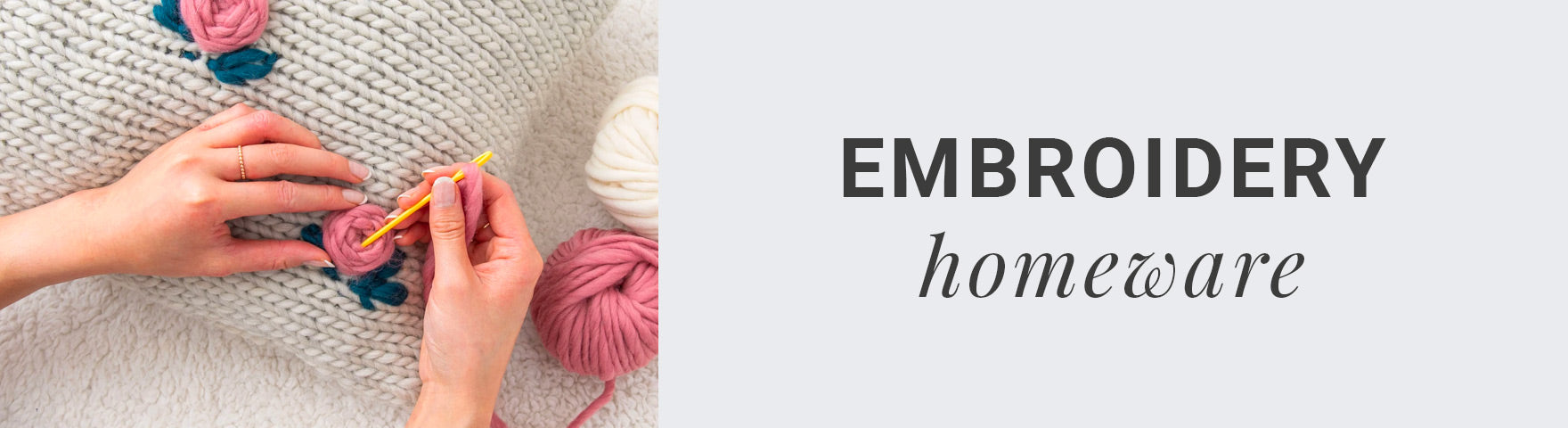 Embroidery Homeware | Stitch & Story