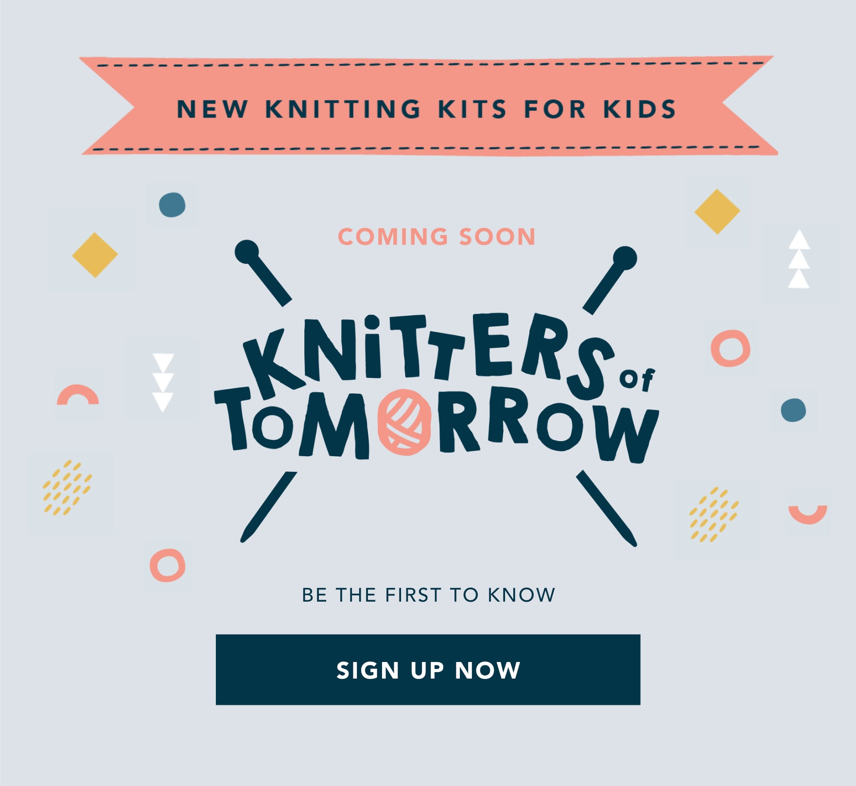 Knitting Kits for Kids