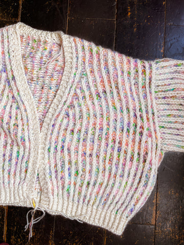 How to stay focused on long knitting projects by Lydia Morrow