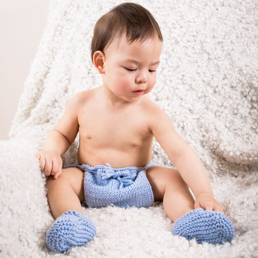 PDF Knitting Pattern: Easy Diaper Cover