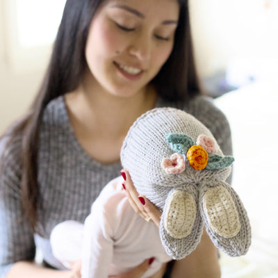 PDF Knitting & Crochet Pattern: Woodlands Bunny Hat