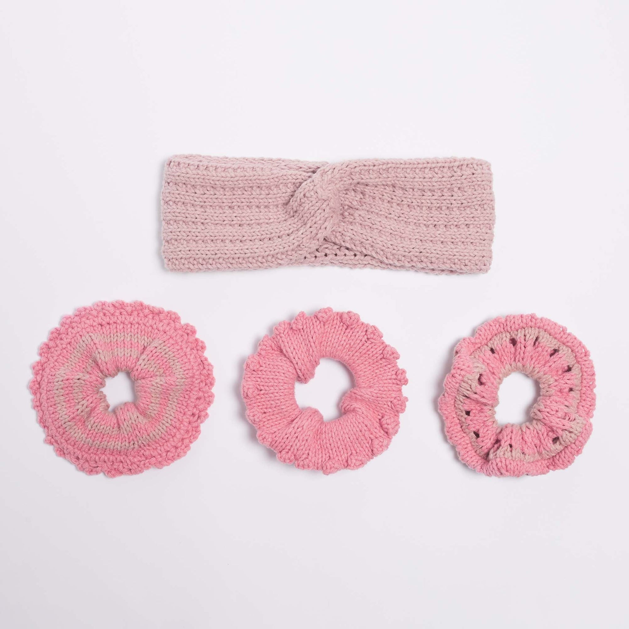 Manhattan Hair Accessories PDF Pattern & Yarn Bundle