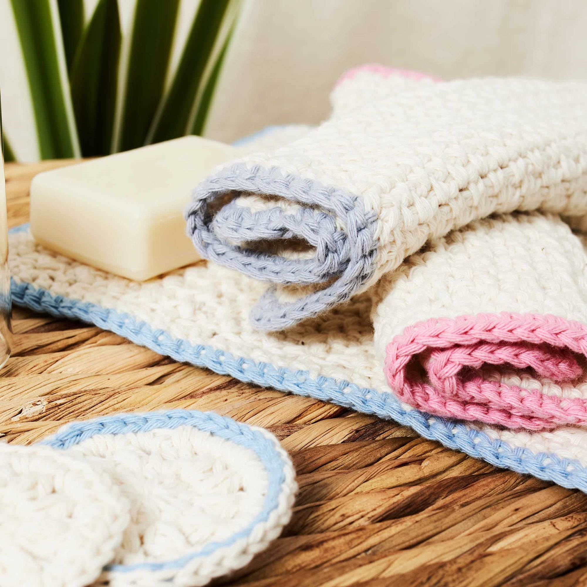 Eco Washcloth Set PDF Pattern & Yarn Bundle