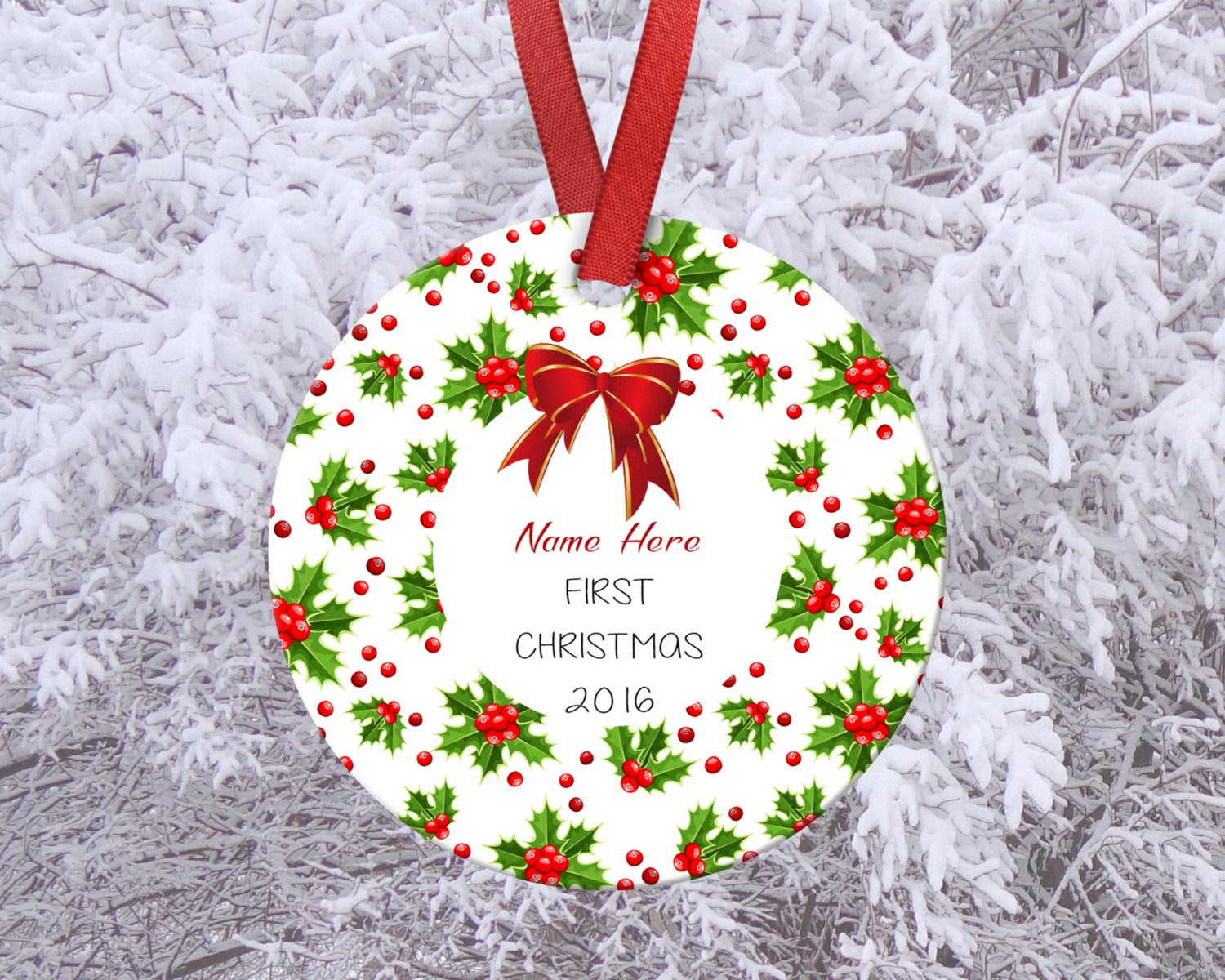 our first home ornament housewarming gift new home ornament custom orn