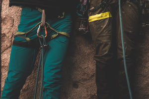 Foehn rock climbing Brise Pant Aqua and Surplus