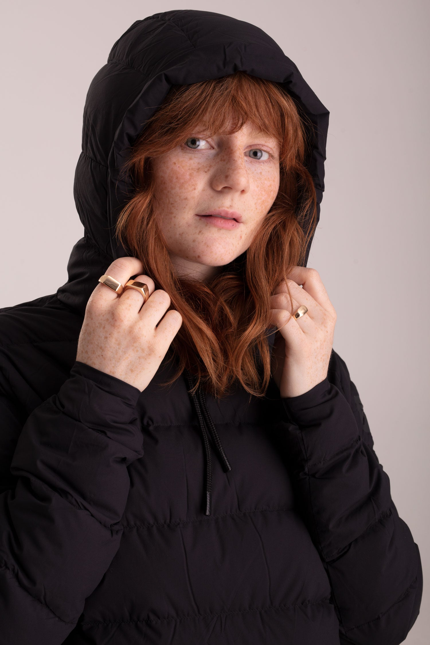 W's Robson Down Hoody - Black