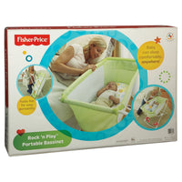 Berço Portátil Fisher-Price Rock N Play - Verde