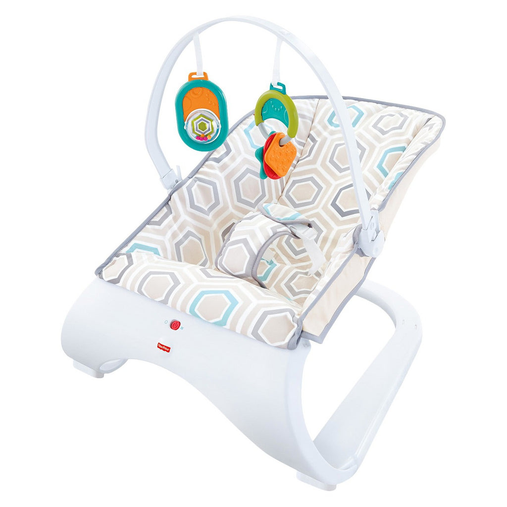 Bouncer da curva do conforto de Fisher-Price