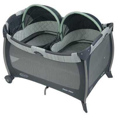 Playset Graco Pack 'n Play com Twin Bassinets