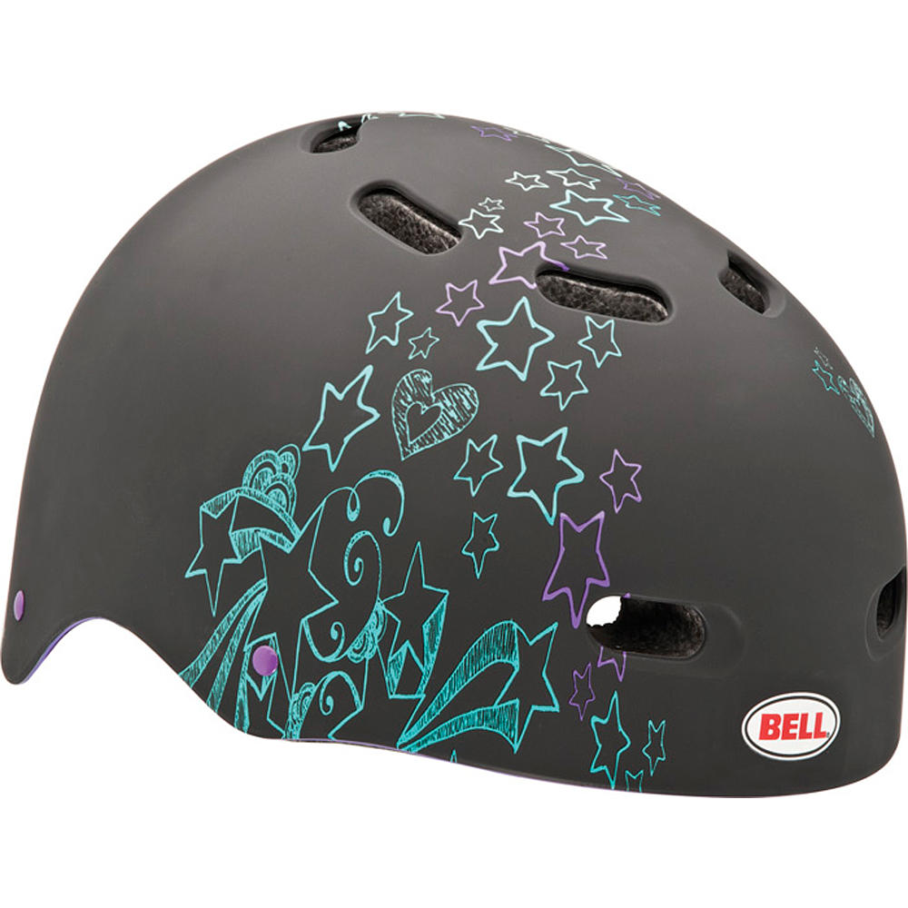 Capacete - Black with Stars - Bell Sports