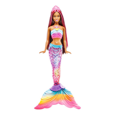 Barbie Rainbow Lights Sereia Nikki Boneca