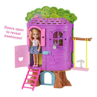Boneca Barbie Chelsea e Treehouse Playset