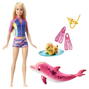 Barbie  Dolphin Magic Snorkel Diversão Amigos