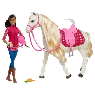 Barbie Dream Horse e boneca afro-americana