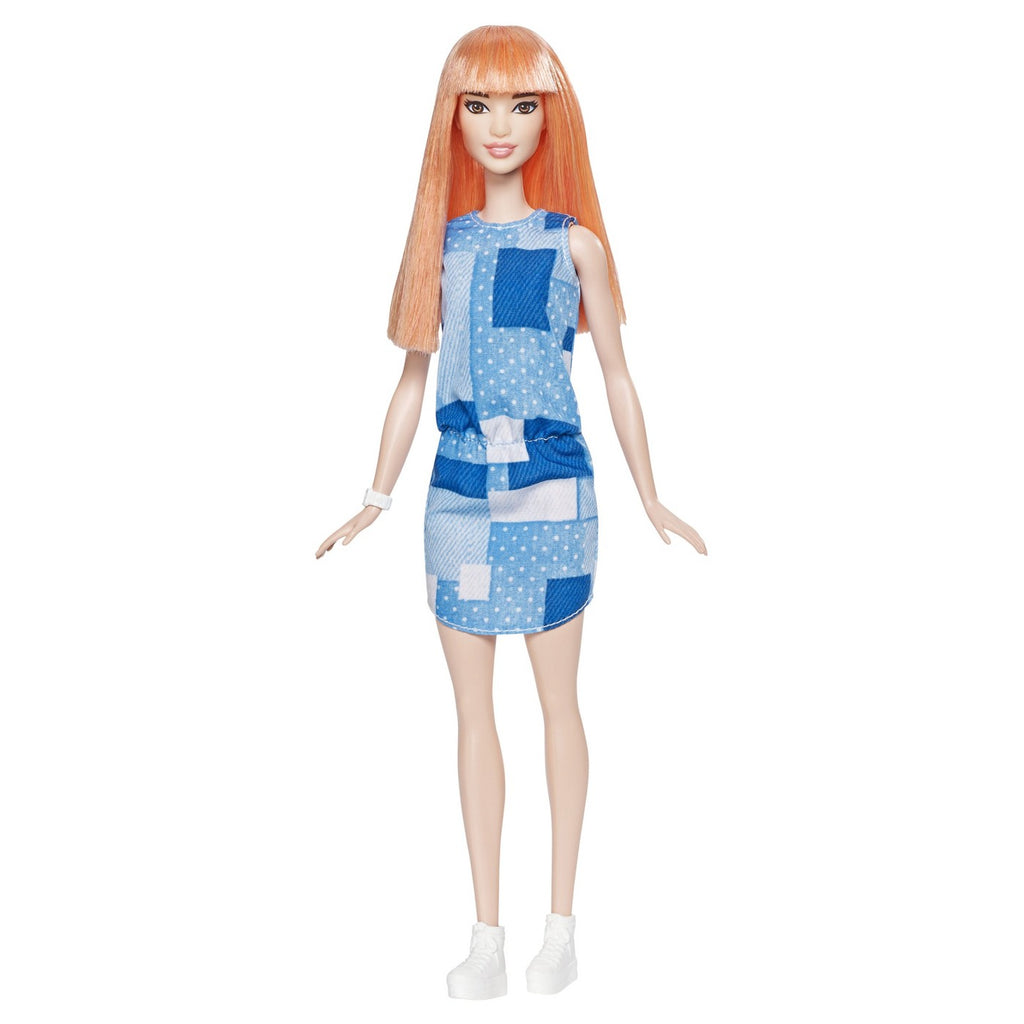 Barbie Fashionistas Boneca 60 - Patchwork Denim