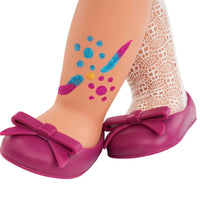 Boneca Deco - Adriana Glitter Tattoo - Our Generation