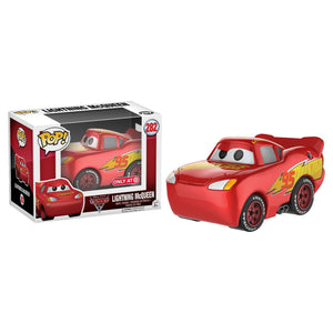 Funko POP! Disney Pixar Cars 3: Figura Exclusiva do Chrome Lightning McQueen