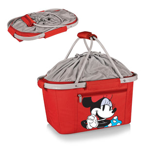Hora do piquenique Disney Minnie Mouse Metro cesta Cooler - vermelho
