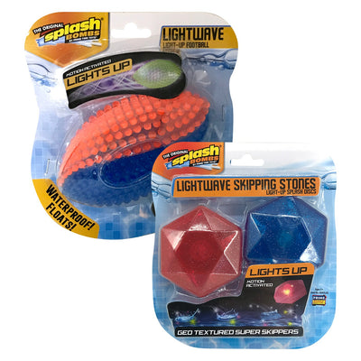 Bombas Splash Lightwave Light-Up Futebol / Skipping Stones (estilos variados)