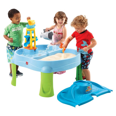 Passo 2 - Sandbox Splash e Scoop Bay
