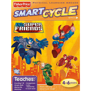 Super Herois - Smart Cycle - Fisher Price