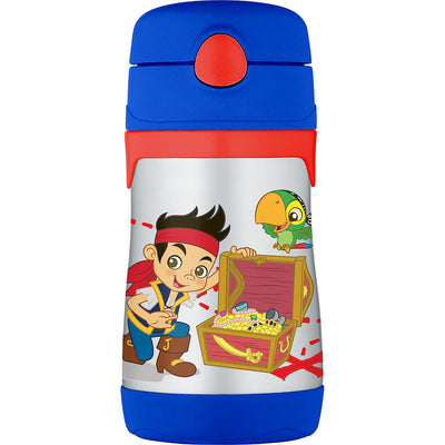 Copo com Canudo - Pirata Jack  295ml - Thermos