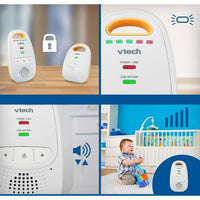 VTech Digital Audio Baby Monitor with High Quality Sound - DM111