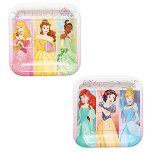 "Disney Princess 7 ""Pratos de Papel - 8ct"