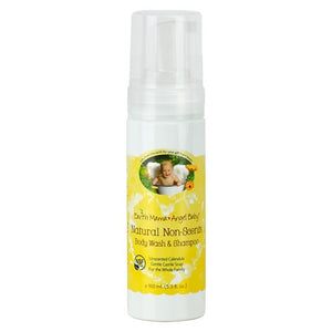 Earth Mama Natural Non-Scents Baby Wash - 160 ml (5.3 fl oz)