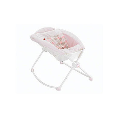 Fisher Price - Bercinho Portatil - Rosa