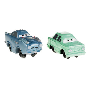 Carrinhos Cars 2 - Oilski e Finn McMissile - Fisher Price