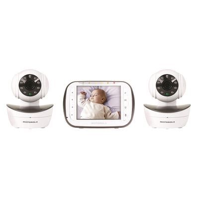 Video Monitor Motorola - Tela 3.5 com 2 Câmeras