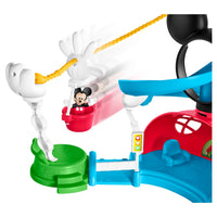 Clube de Mickey Mouse da Disney-Fisher-Zip, Slide e Zoom Clubhouse