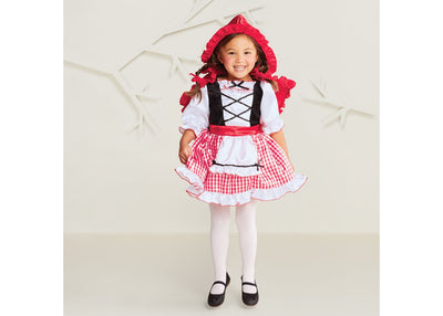 Traje de Halloween do bebê meninas 'Red Riding Hood 18-24M - Hyde e Eek! Boutique